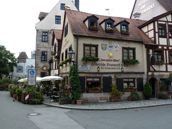 Bratwurstk chen in n rnberg frankenradar for Designhotel franken