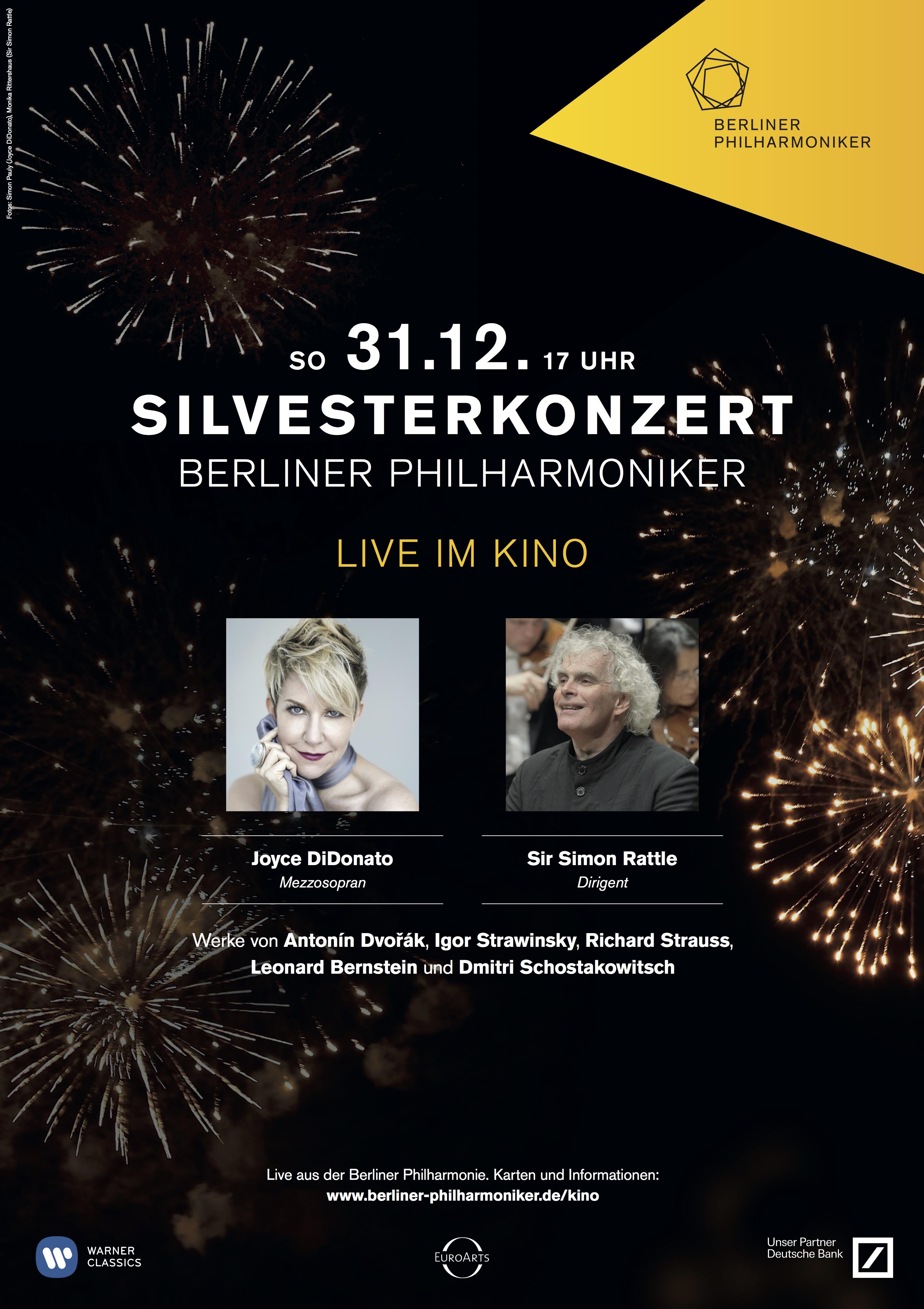 veranstaltung das silvesterkonzert der berliner philharmoniker live im kino dettelbach 31. Black Bedroom Furniture Sets. Home Design Ideas